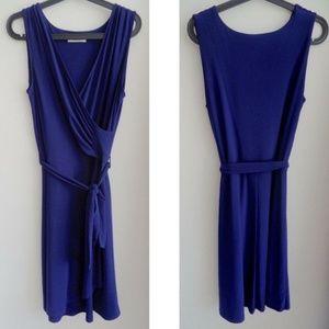 41 Hawthorn Dresses - 41 HAWTHORN Faux Wrap Tie Waist Dress, sz M